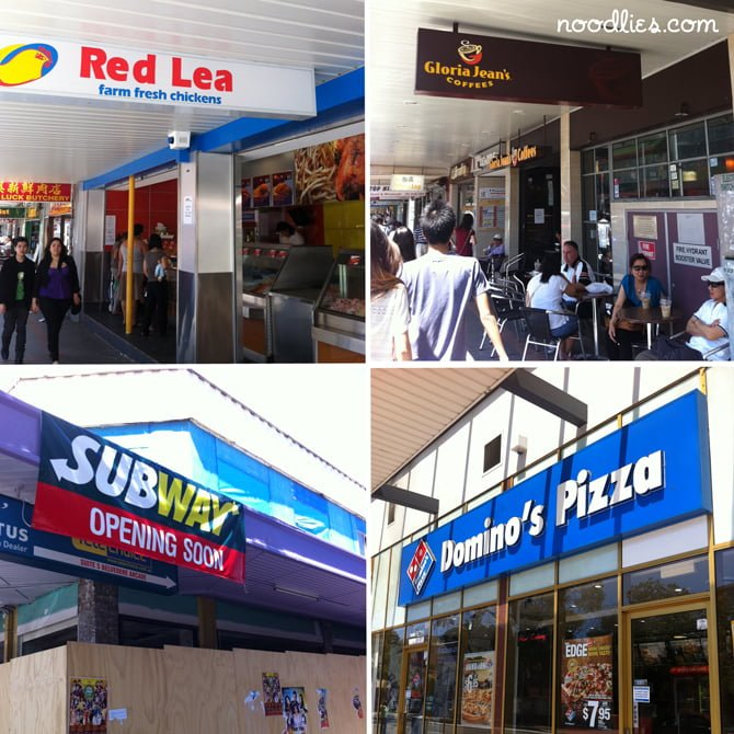 Cabramatta Fast Food Chains