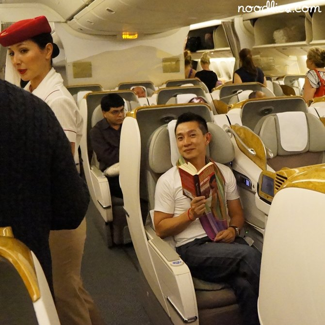 emirates business class bangkok to sydney