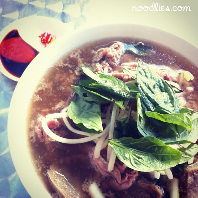 pho at cafe buon cibo