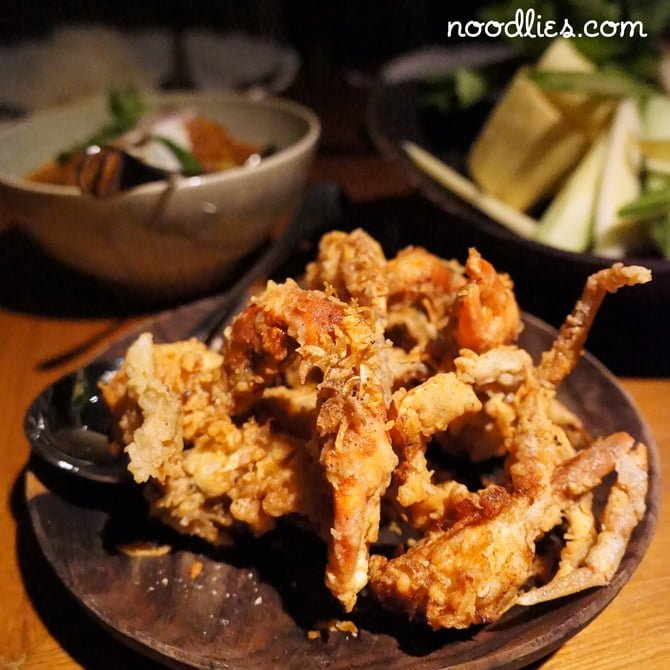 nahm bangkok soft-shell crab