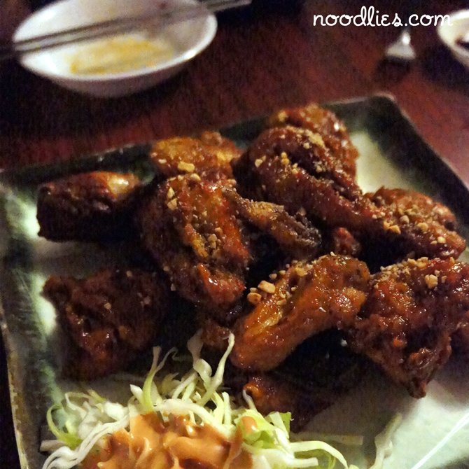korean honey fried chicken