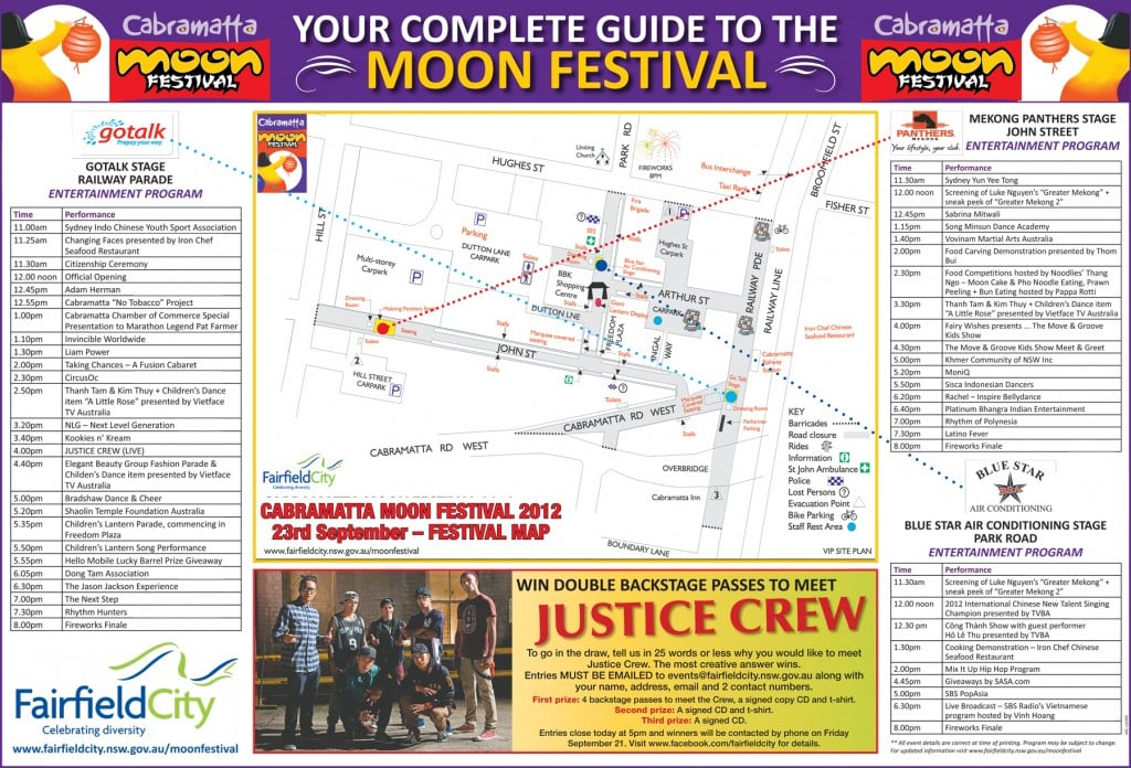Cabramatta Moon Festival 2012 program