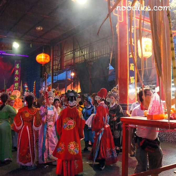 hungry ghost festival, penang