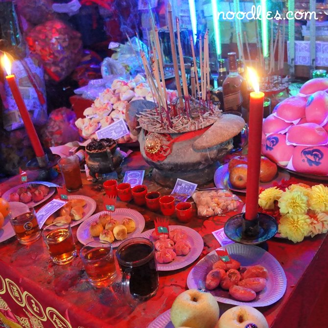 hungry ghost festival offering