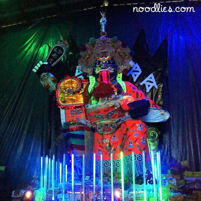 hungry ghost festival altar