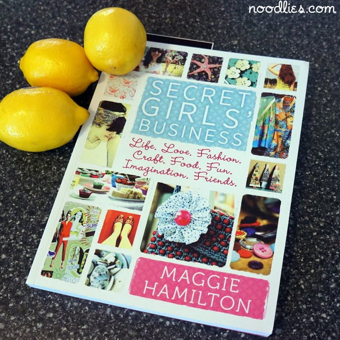 maggie hamilton secret girls business cover
