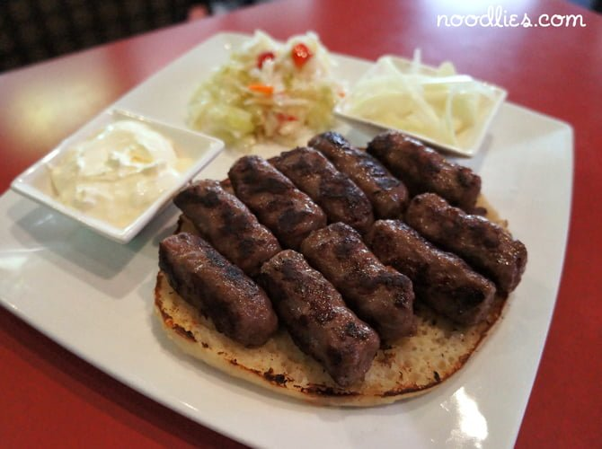 Cevapcici bondeno cafe fairfield