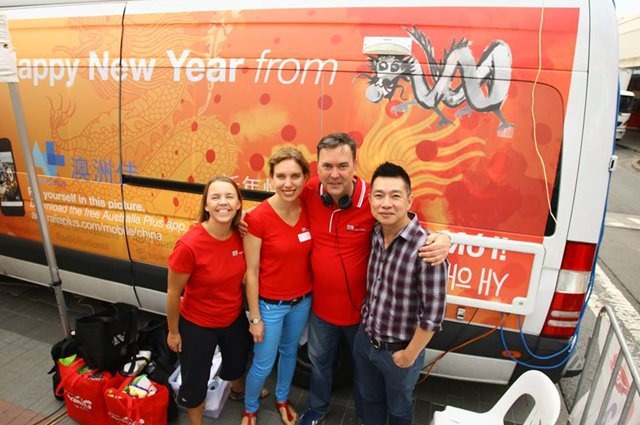 702 ABC Sydney radio Cabramatta lunar new year 2014 outside broadcast