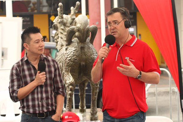 Simon Marnie, Thang Ngo ABC Radio, noodlies food blog