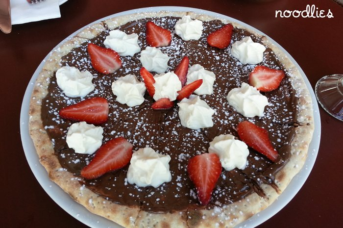 how to make italian nutella pizza