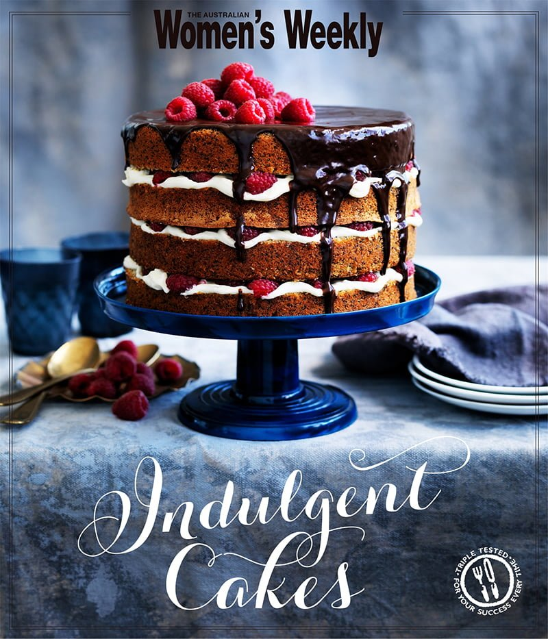 The Australian Womens Weekly Indulgent Cakes cook book review