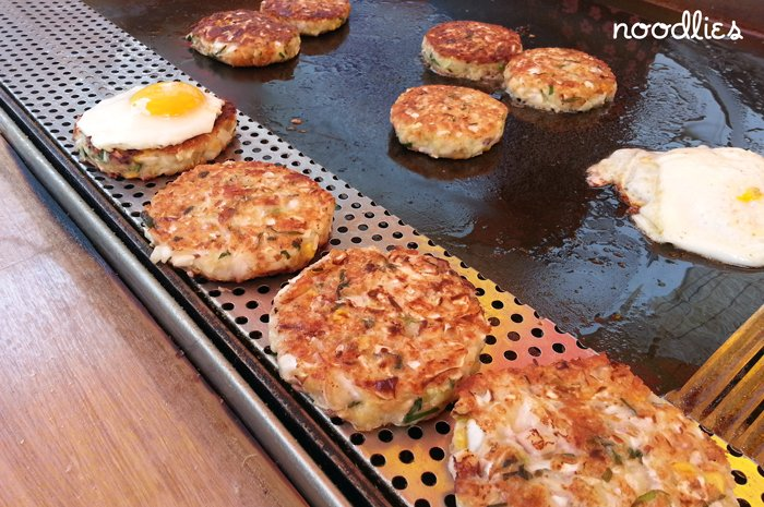 street food busan vegetable patties