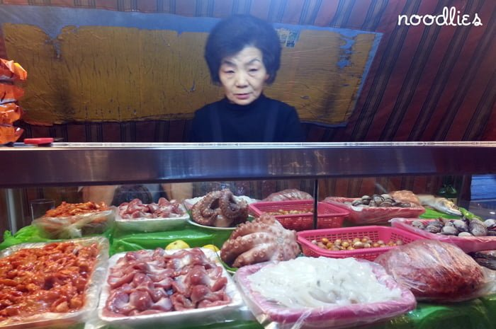 street food woman busan