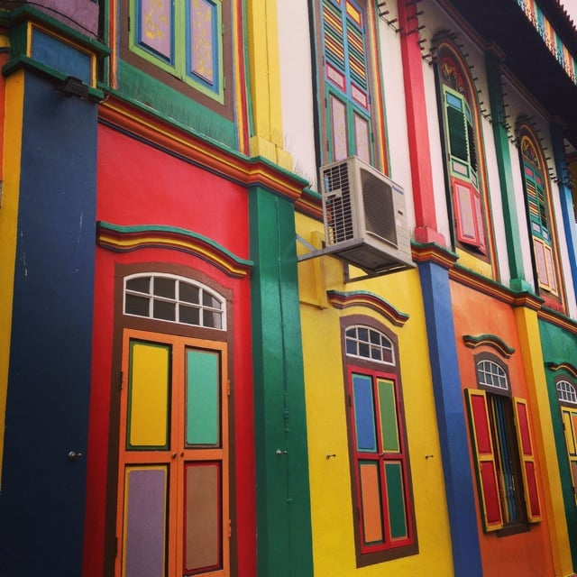 Little India is a riot of colour