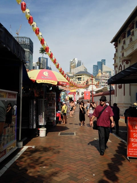 Old meets new at Singapore's Chinatown