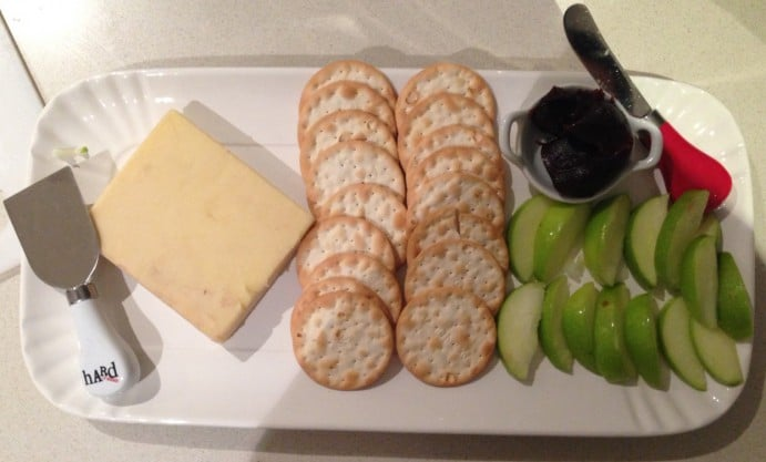 Game of Thrones Themed Dinner Menu Tyrion Lannister Cheese Plate with Whisky Cheddar from Wicked Cheese 2