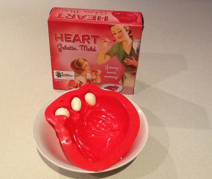 Game of Thrones Themed Dinner Menu Virgin Mary heart shaped jelly 4