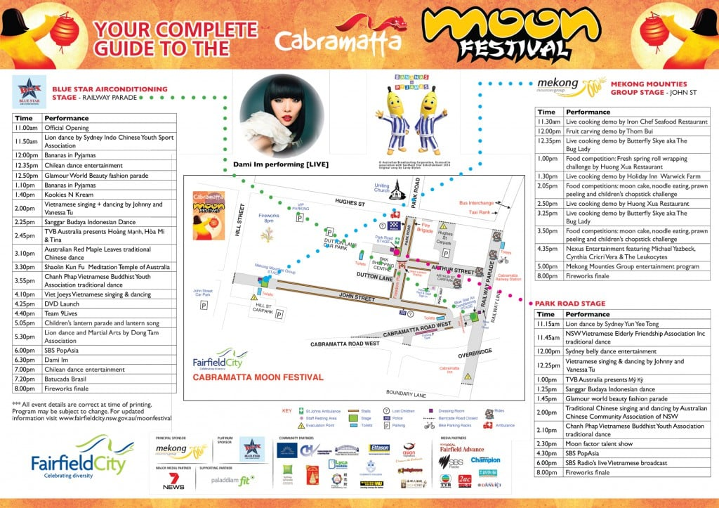 Cabramatta Moon Festival 2014 Program