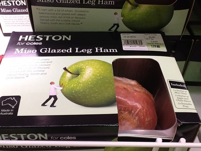 Is Aldi Cheaper For Your Christmas Shopping Coles Heston Miso Glazed Ham