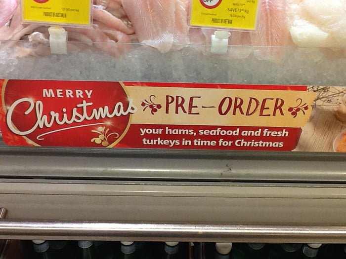 Is Aldi Cheaper For Your Christmas Shopping Coles Seafood Pre Order