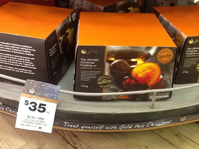 Is Aldi Cheaper For Your Christmas Shopping Woolworths Ultimate Christmas Pudding