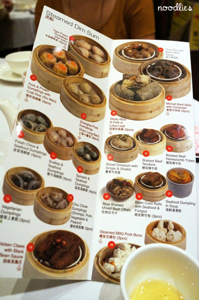 east ocean chinatown yum cha menu