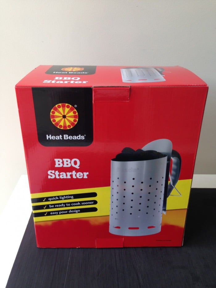 Heat Beads BBQ Chimney Starter authentic Barbeque Barbecue in 12 minutes review