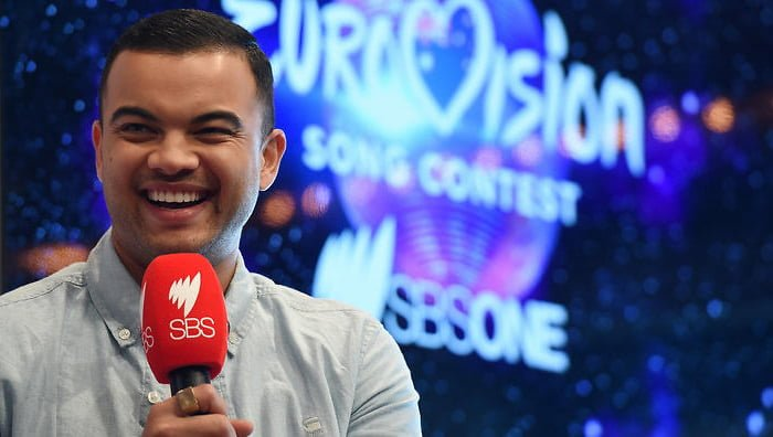 Eurovision Food and Drinks Party Guy Sebastian