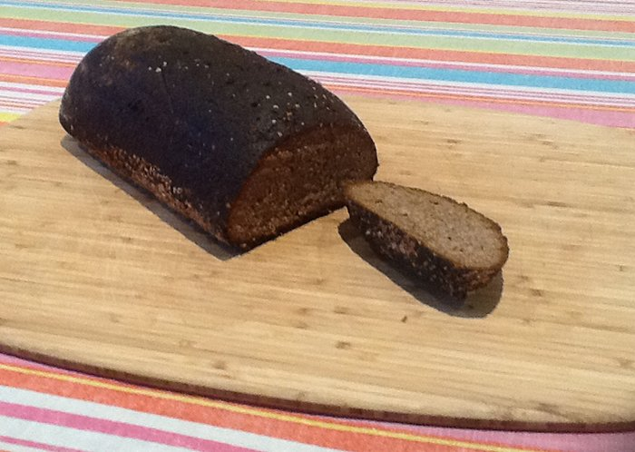 Eurovision Food and Drinks Party Russian black bread