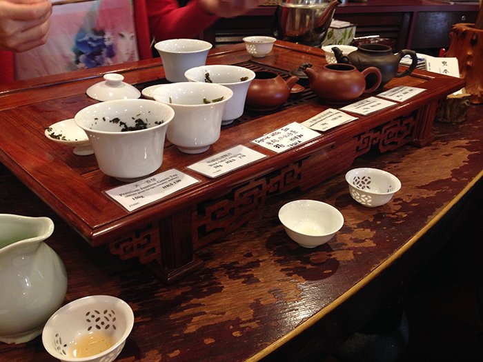 Little Adventures Food Tour Hong Kong Health Tea shop 2