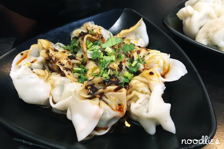 Shikumen chilli dumplings