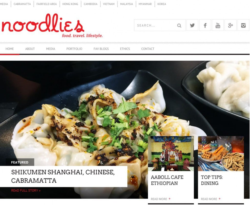 noodlies sydney food blog