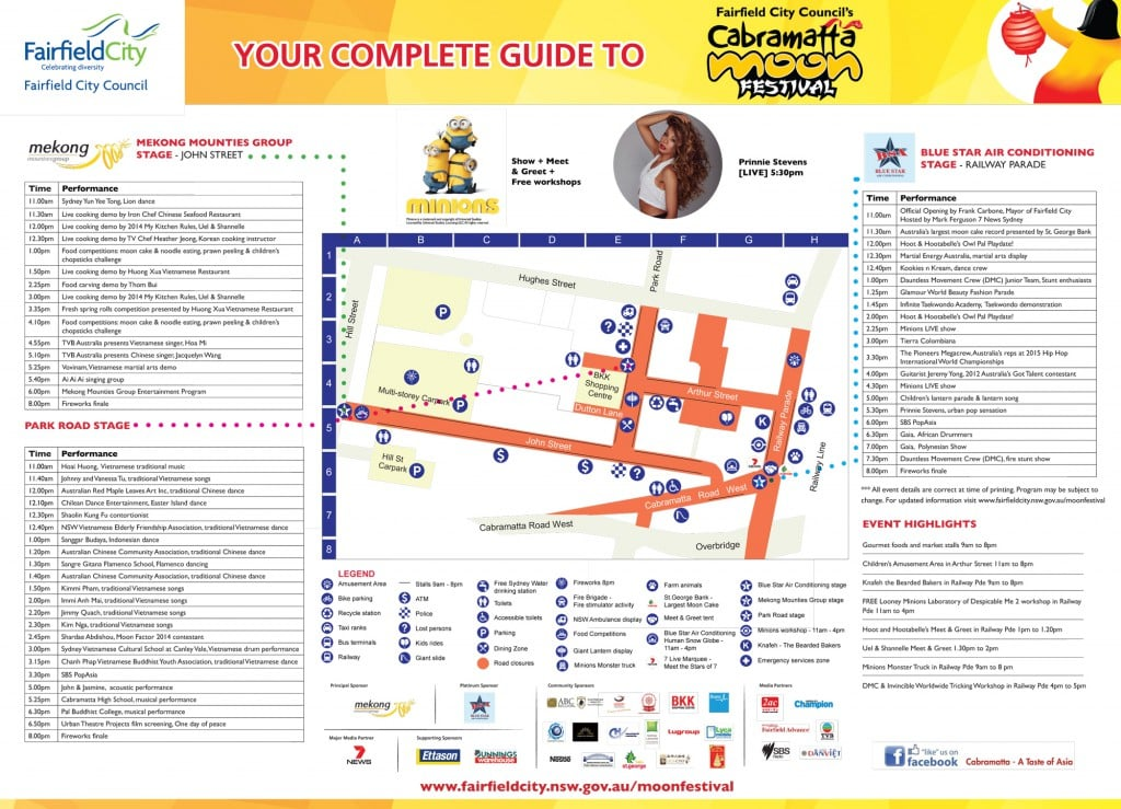 2015 Cabramatta Moon Festival full program