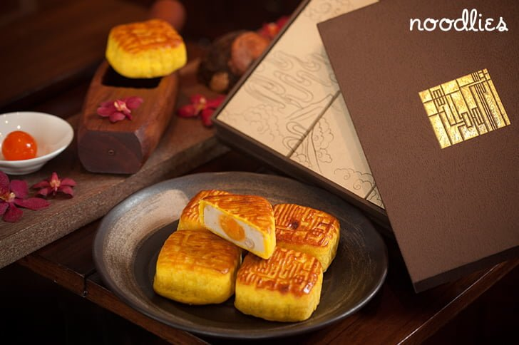 four seasons hong kong mooncakes taro and salted egg yolk