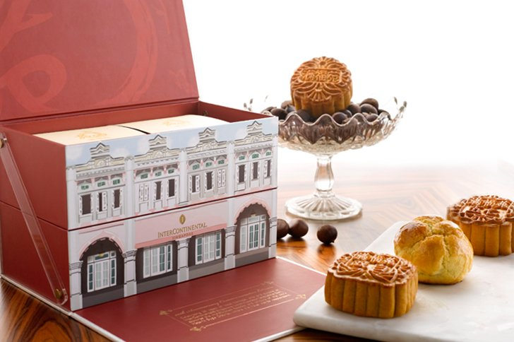 intercontinental singapore 20th anniversary mooncake