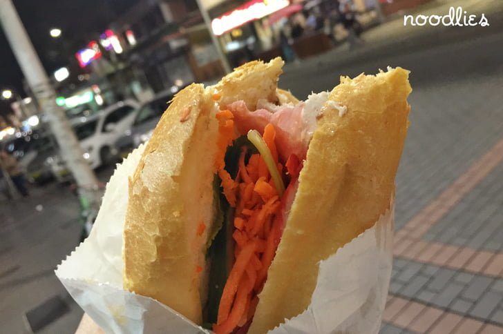Viet Hoa Hot Bread Cabramatta pork roll