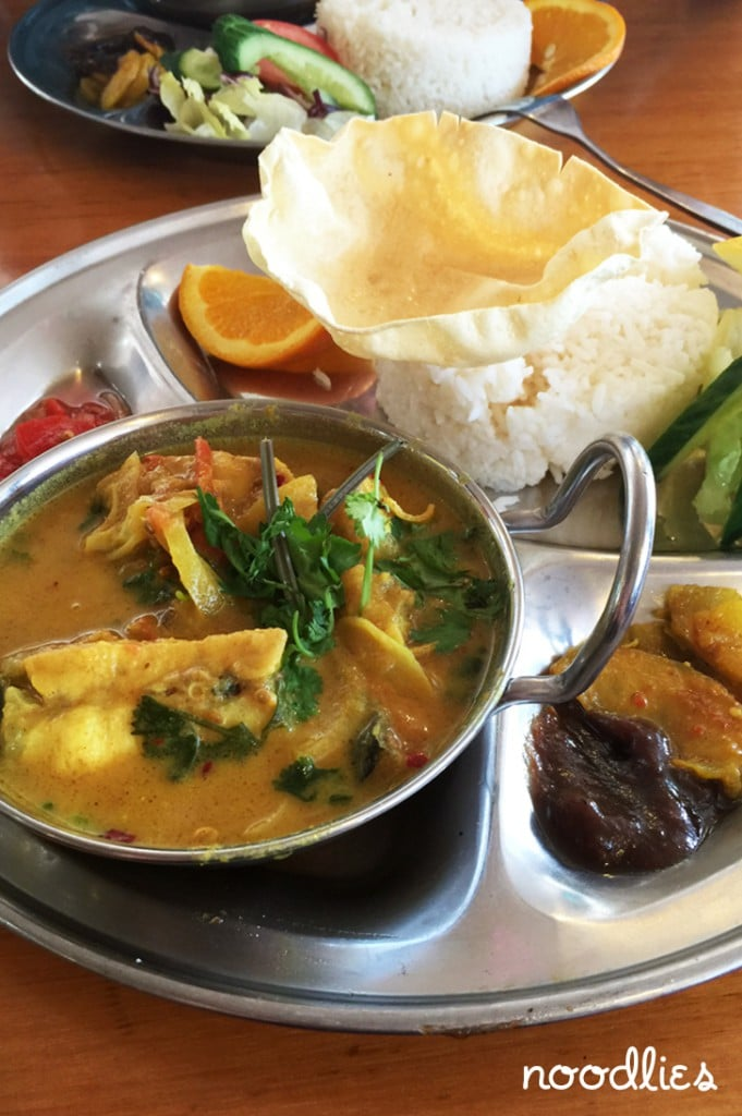 akash pacific cuisine liverpool fish curry