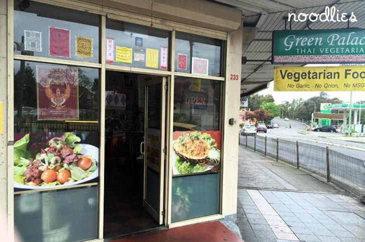 green palace thai vegetarian cabramatta